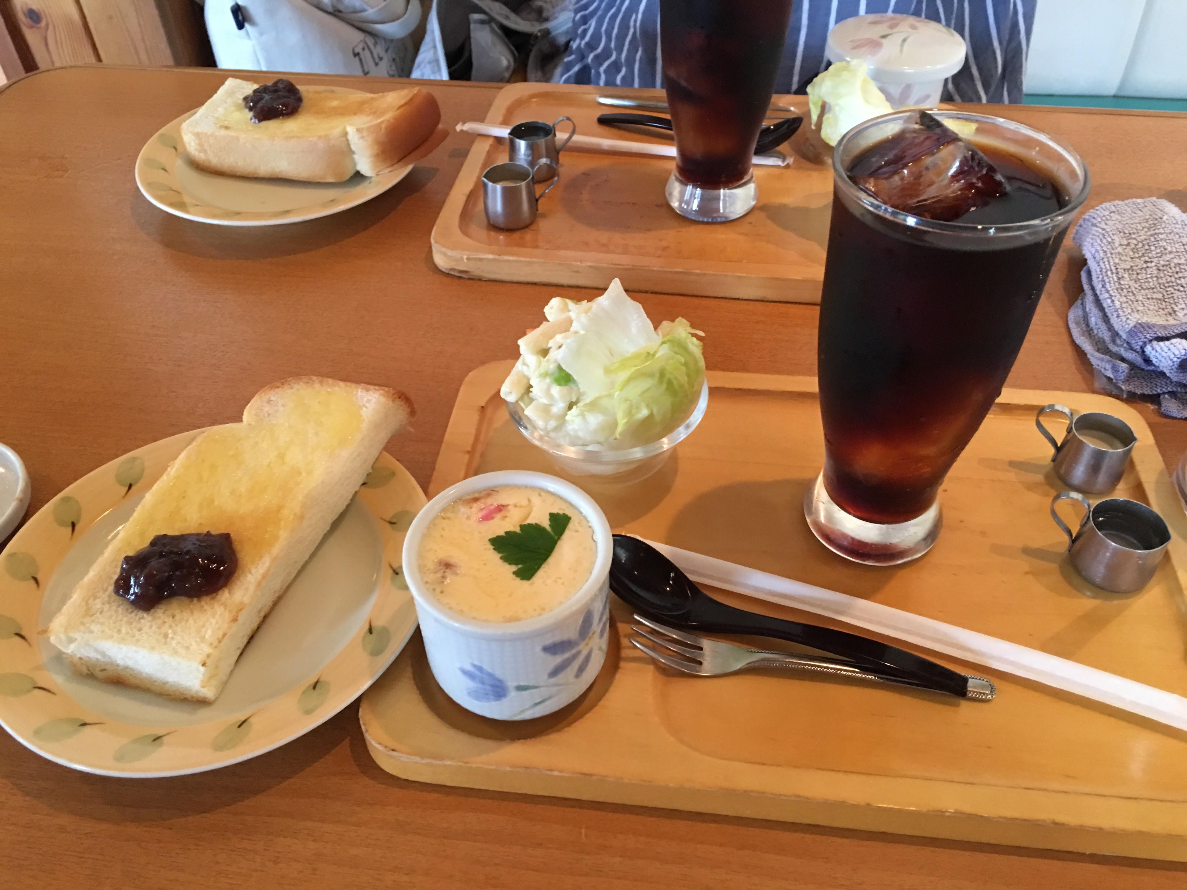 サービスし過ぎの喫茶店の話。東京でやったら店が潰れるよね。笑
