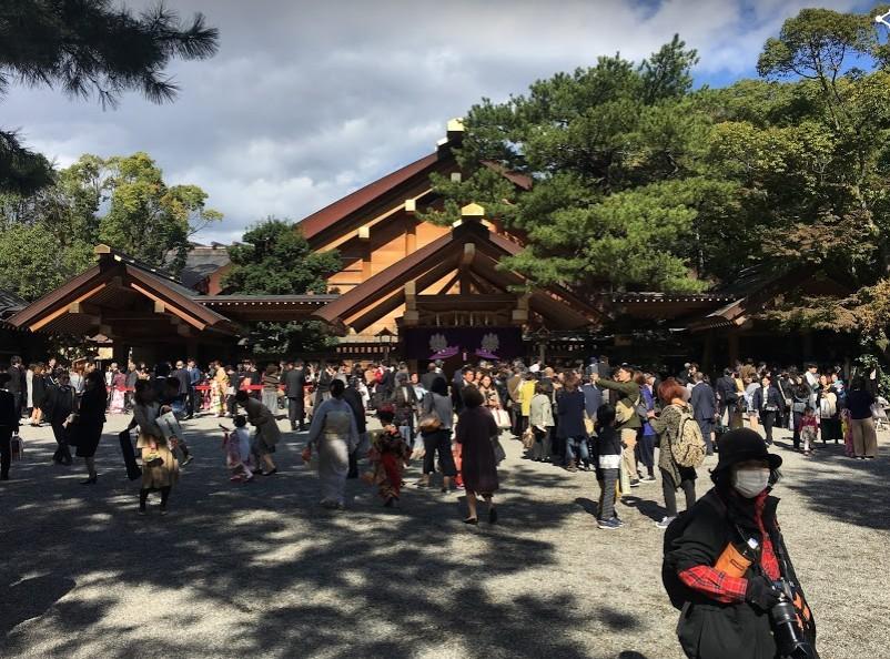 熱田神宮で七五三のお参りをした体験記